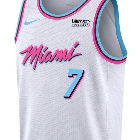 online retailer 231fb dea99 miami heat city jersey
